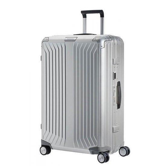 Lite-box ALU Спинер на 4 колела 76 см. цвят алуминий