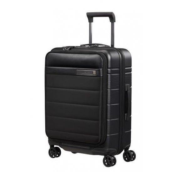 """Куфар на 4 колела Samsonite Neopod 55 см за 15.6"""" лаптоп и разширение, черен"""