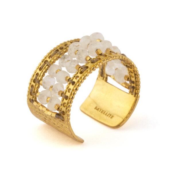 Модерен пръстен с перли BLA76-B SATELLITE PARIS