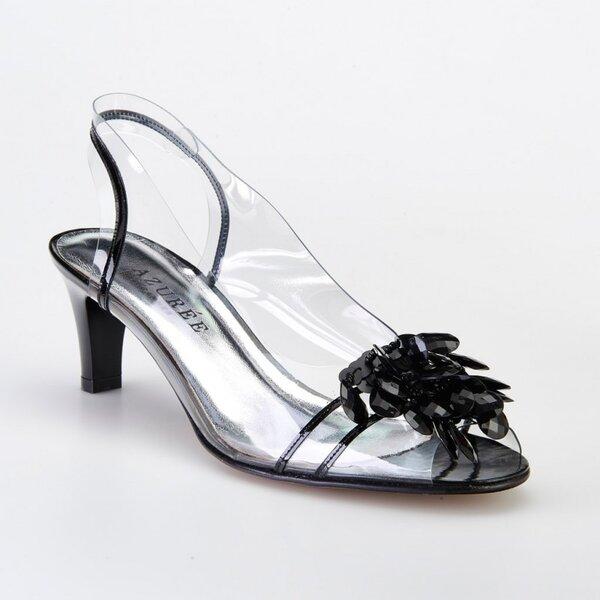 Дамски сандали с черно AZURÉE CANNES NUAGO 84NC74