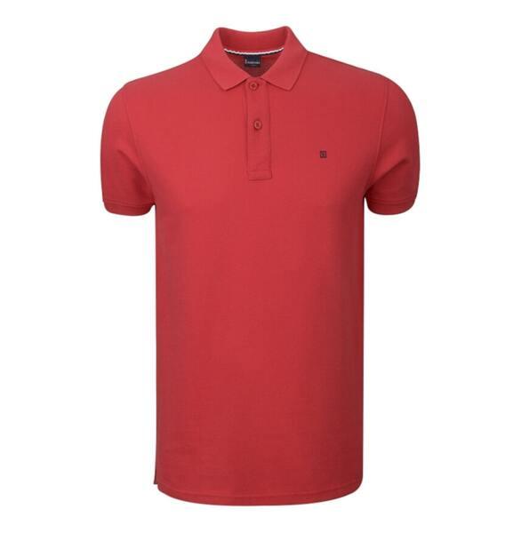 Мъжка тениска с якичка LION OF PORCHES P311072295V01