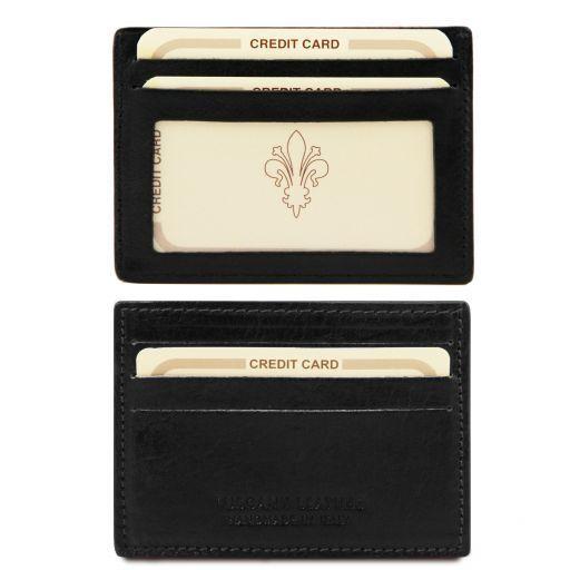 Кожен портфейл за кредитни карти TL140805