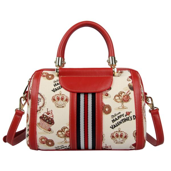 Дамска чанта с принт мечета и кексчета H-259L CAKE HENNEY BEAR