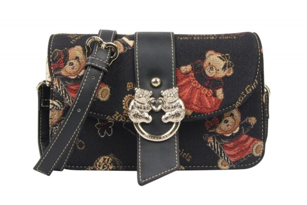 Дамска чанта с принт мечета и корони H-379 CROWN HENNEY BEAR
