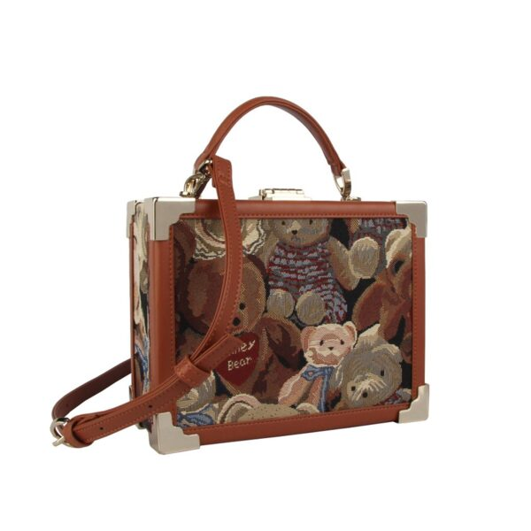 Дамска чанта с принт плюшени мечета H-230 TEDIE HENNEY BEAR