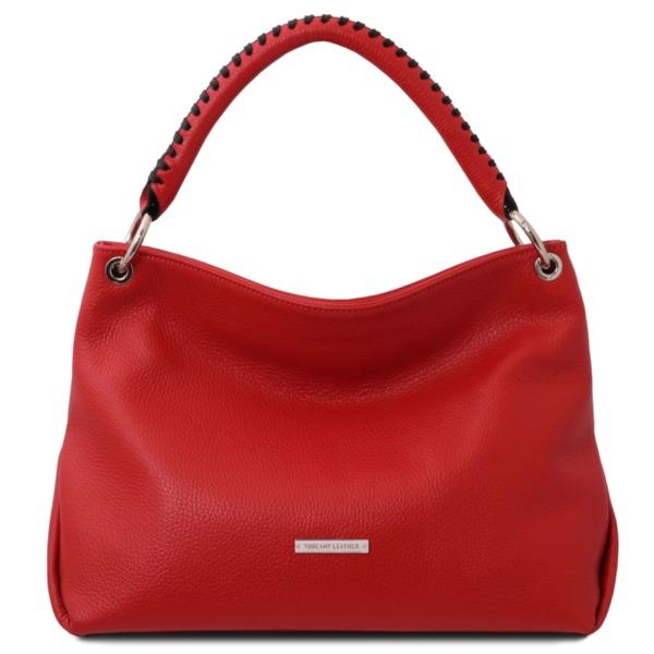 Дамска чанта от естествена кожа TL BAG TL142087