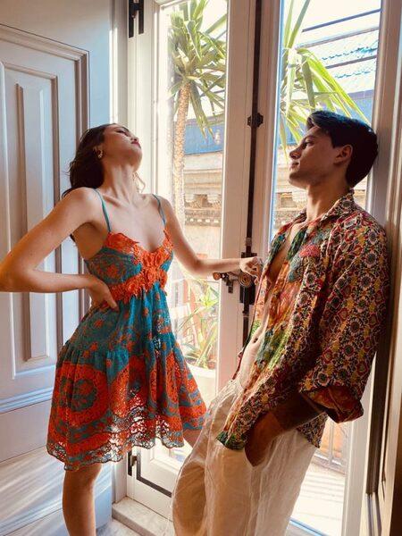 Къса рокля с презрамки Moda di Napoli AW051