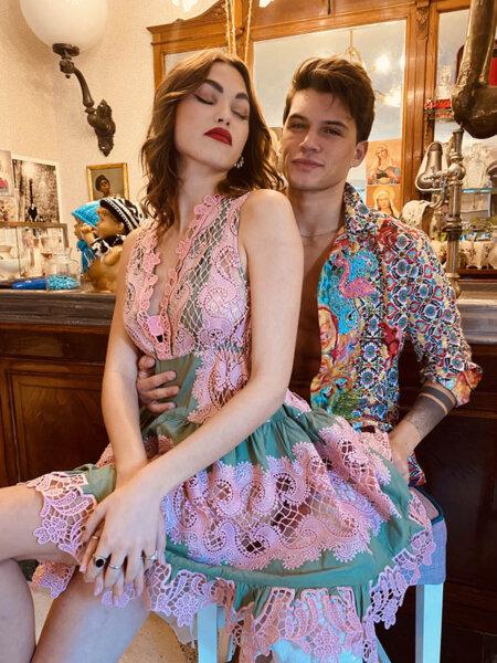 Къса рокля без ръкави AW096 Moda di Napoli