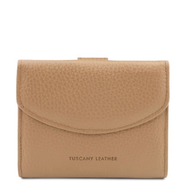 Дамски портфейл от естествена кожа CALLIOPE TL142058