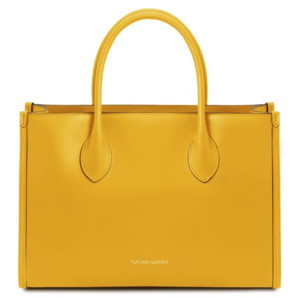 Дамска чанта от естествена кожа LETIZIA TL142040