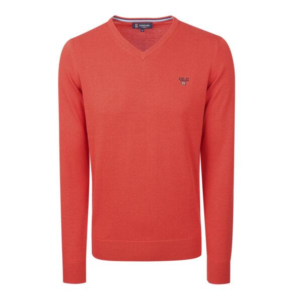 Удобен мъжки пуловер LION OF PORCHES P210052151