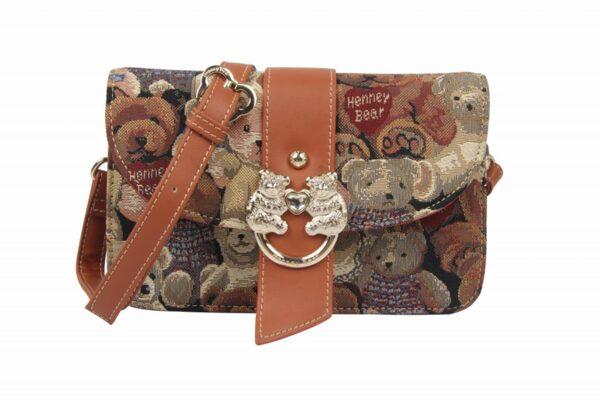 Дамска чанта с принт мечета H-379 TEDIE BEAR