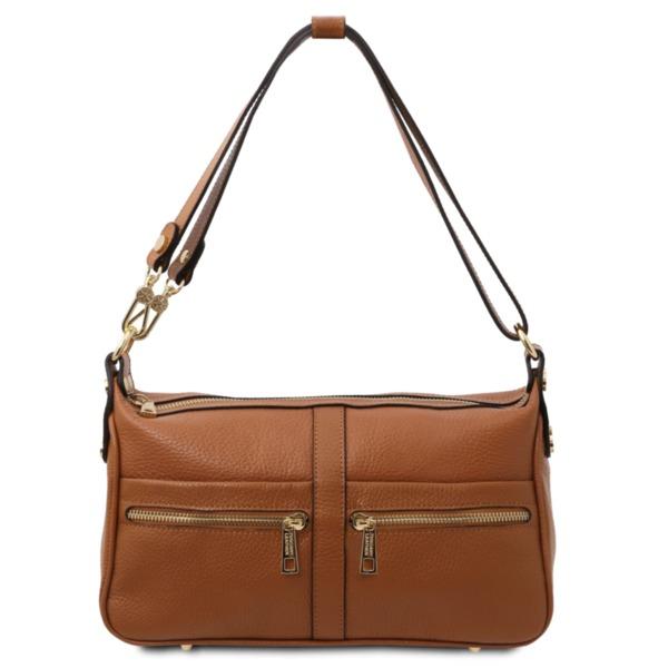 Дамска чанта от естествена кожа TL BAG TL142133