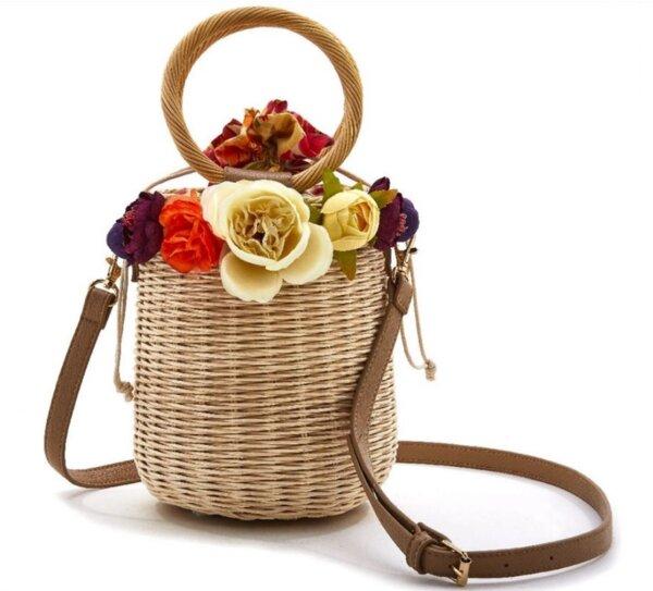Плетена чанта EMANUELA BIFFOLI 21545