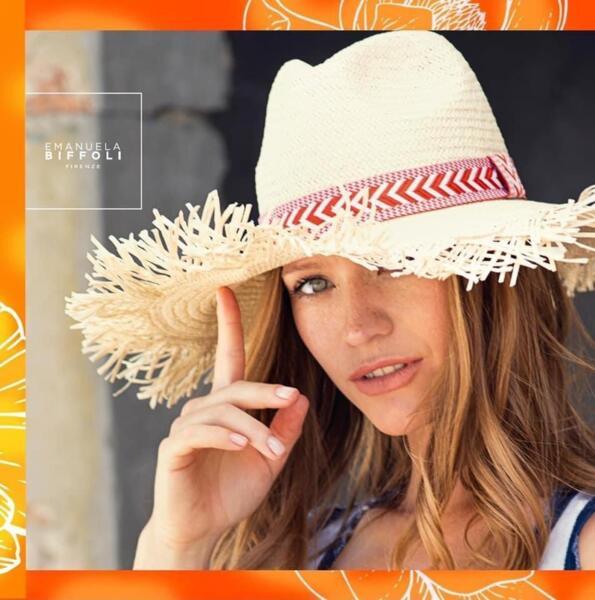 Плажна шапка 63125 EMANUELA BIFFOLI