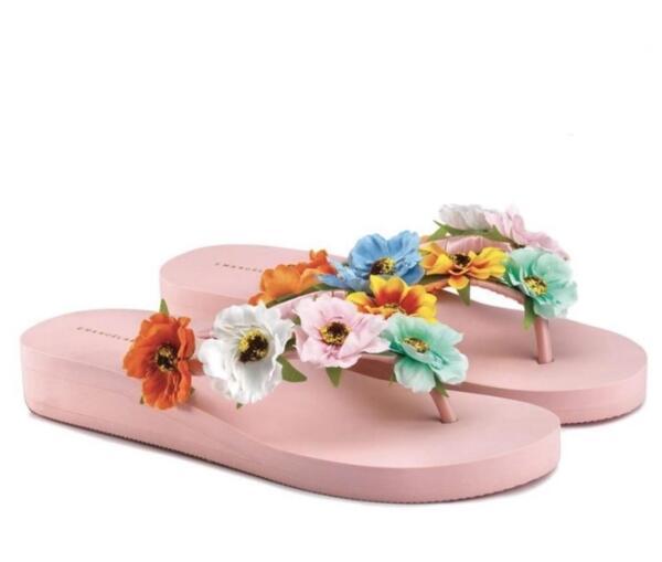 Джапанки с цветя 36122 EMANUELA BIFFOLI