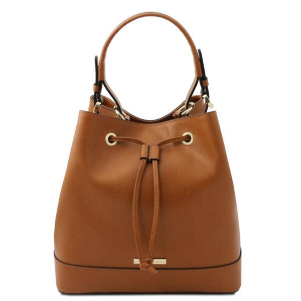 Дамска чанта от естествена кожа MINERVATL142145
