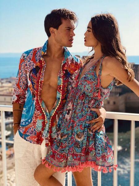 Класическа риза с яка AC157 Moda di Napoli
