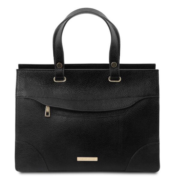 Дамска чанта от естествена кожа TL BAG TL142079