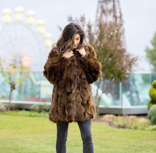 Дамско палто от лисица 44FOX MILIOS FURS