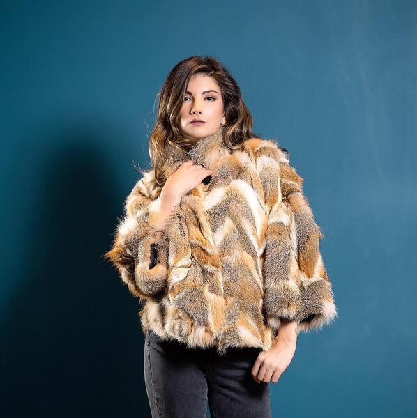 Дамско палто от лисица 46FOX MILIOS FURS