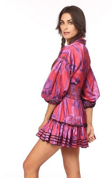 Къса рокля Plaisance Savage