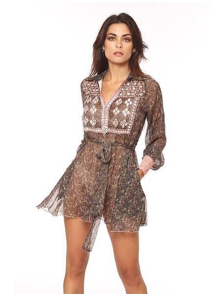 Къса рокля Versalles Savage