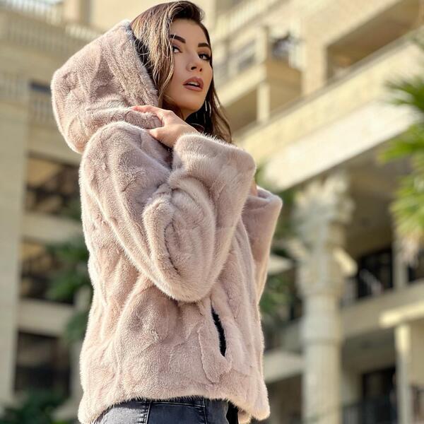Дамско палто от норка 72MINK MILIOS FURS