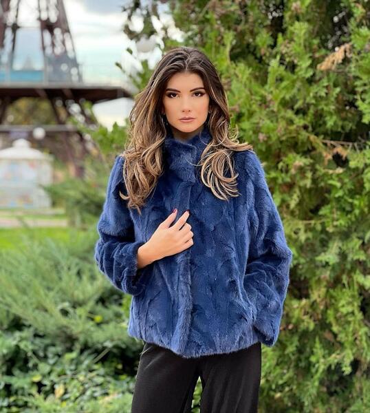 Дамско палто от норка 71MINK MILIOS FURS