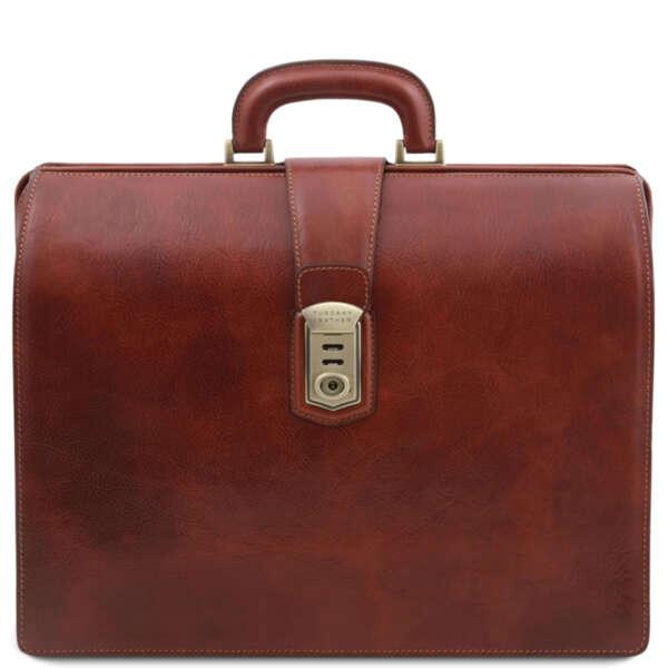 Мъжка лекарска чанта от естествена кожа Canova TL141826