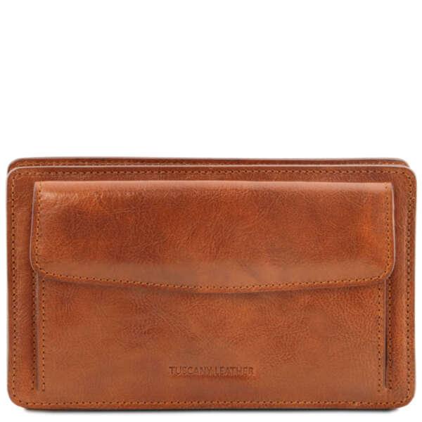 Италианска малка чанта от естествена кожа Denis TL141445