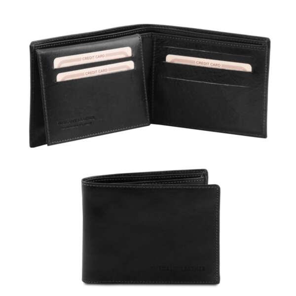 Мъжки портфейл от естествена кожа TL140760