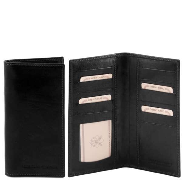 Мъжки портфейл от естествена кожа TL140784