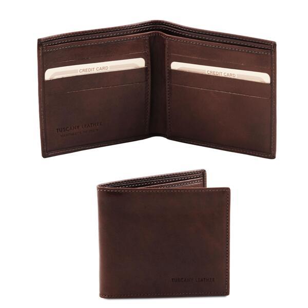 Мъжки портфейл от естествена кожа TL140797
