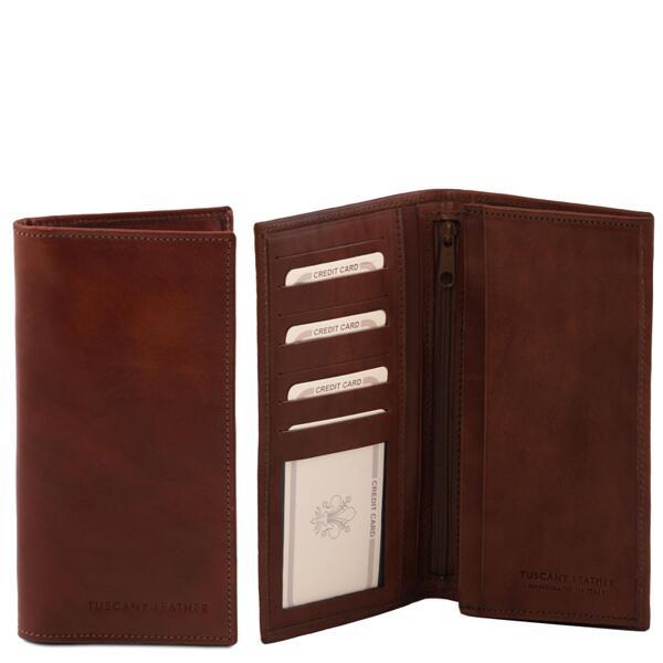 Мъжки портфейл от естествена кожа TL140777