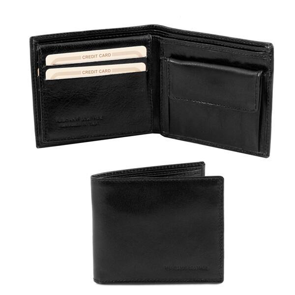 Мъжки портфейл от естествена кожа TL141377