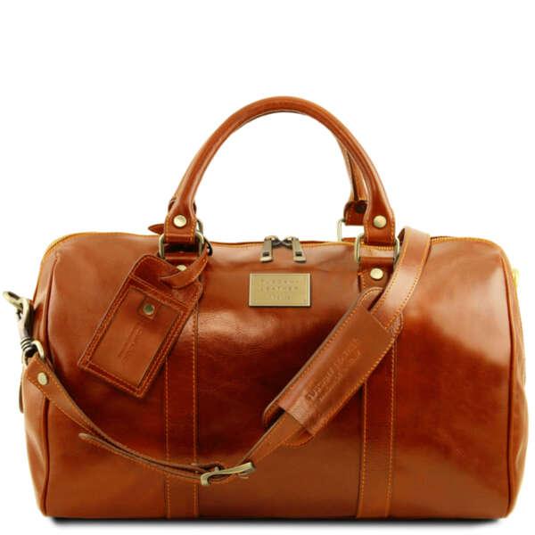 Кожена чанта за пътуване TL Voyager TL141250