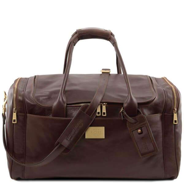 Кожена чанта за пътуване TL Voyager TL141281