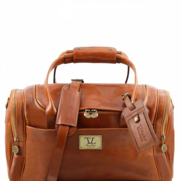 Кожена чанта за пътуване TL Voyager TL141441