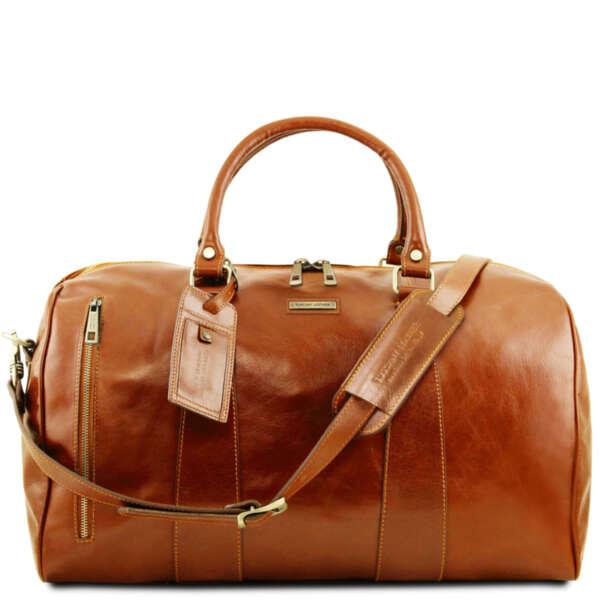 Кожена чанта за пътуване TL Voyager TL141794
