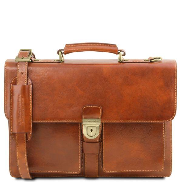 Италианско мъжко бизнес куфарче Assisi TL141825