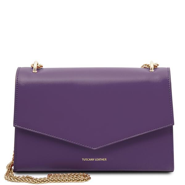 Дамска чанта от естествена кожа Fortuna TL141944
