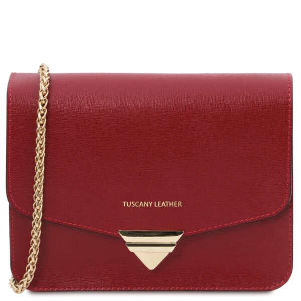 Дамска чанта от естествена кожа TL BAG TL141954