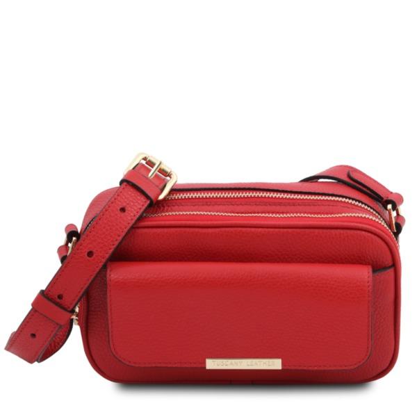 Дамска чанта от естествена кожа TL BAG TL142084