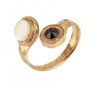 Шикозен пръстен с кристали SATELLITE PARIS FUJ70