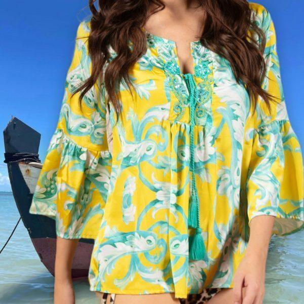 Дамска блуза Moda di Napoli C240B
