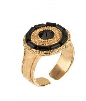 Изискан пръстен с японски мъниста SATELLITE PARIS FUJ74