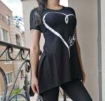 Туника Анабел в черно
