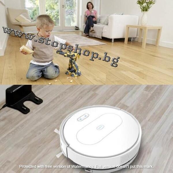 001.Автоматизиран робот-моп прахосмукачка с функция миене Robot Vacuum cleaner with mop.