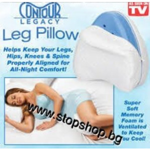 19.Ергономична възглавница за крака и тяло